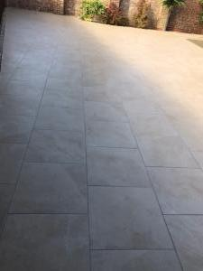 Robert Brundett Close Arrento Paving (60)